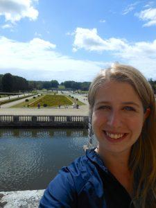 Selfie at Chateau de Vaux le Vicomte
