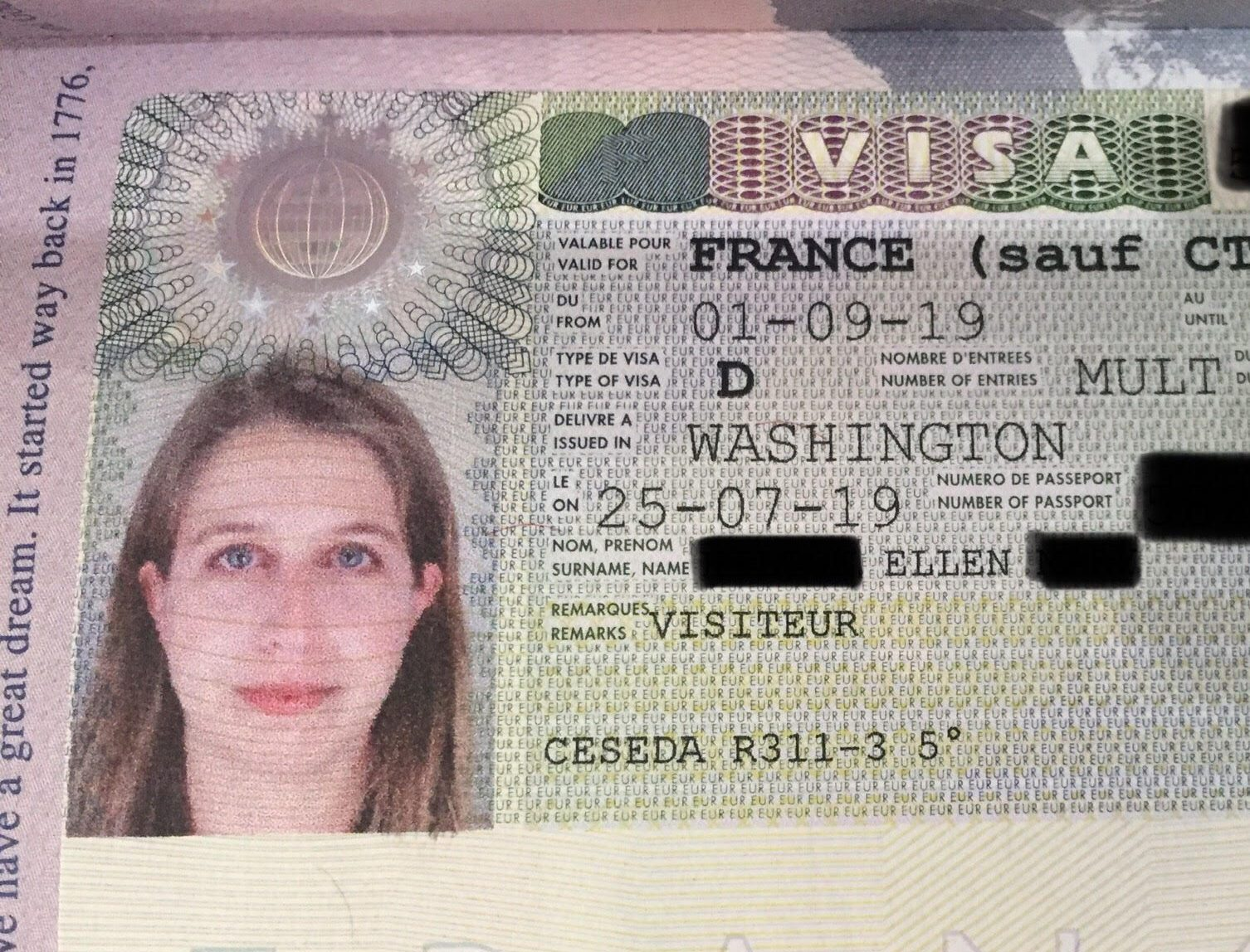 Long Stay Visa For France Americaine In France Marry Move To France
