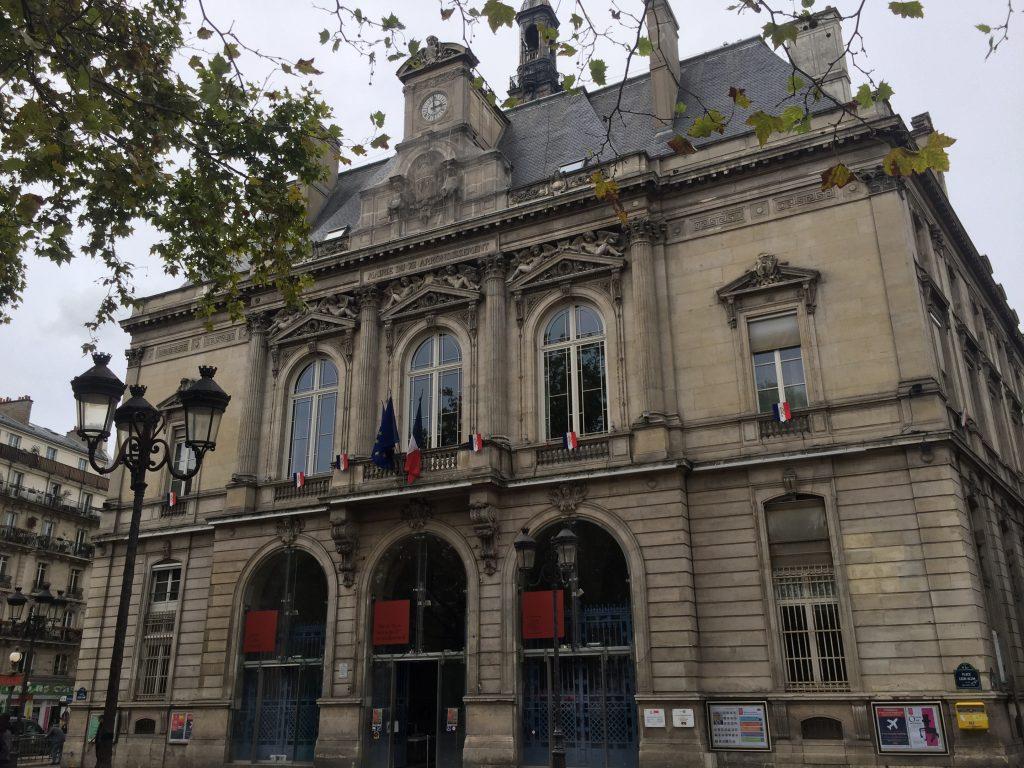 Paris town hall 11th arrondissement