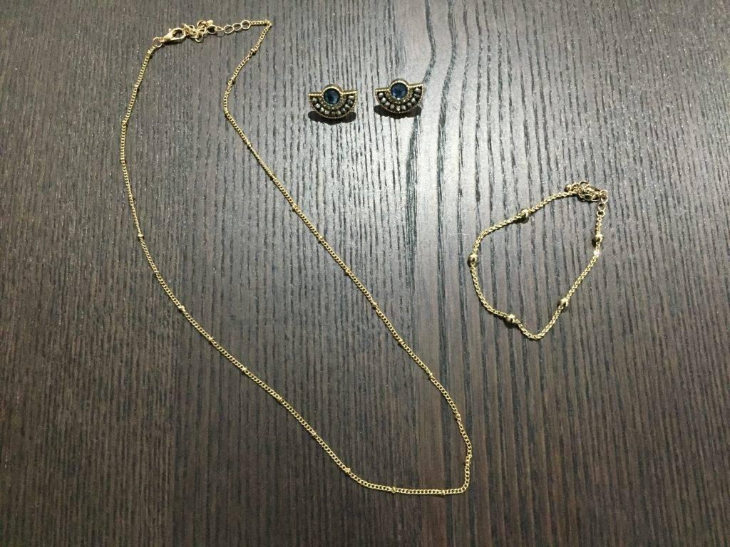 wedding simple gold jewelry