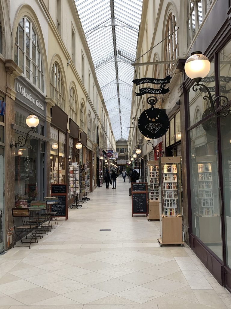 Passage Jouffroy in Paris