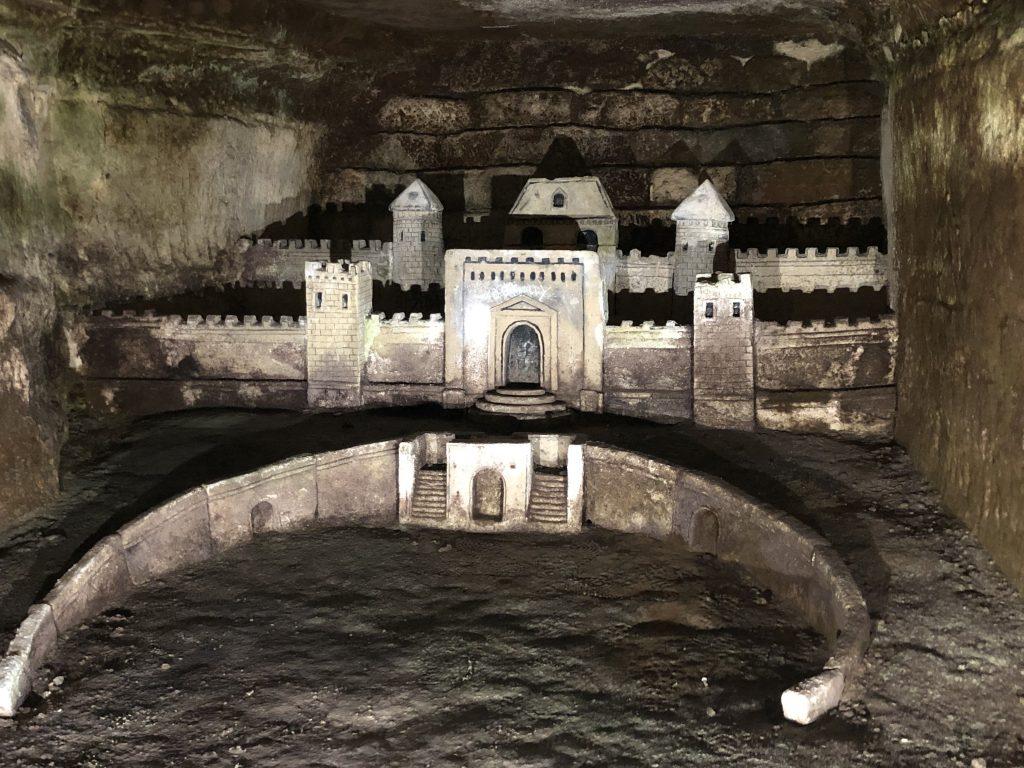 Paris Catacombes carvings