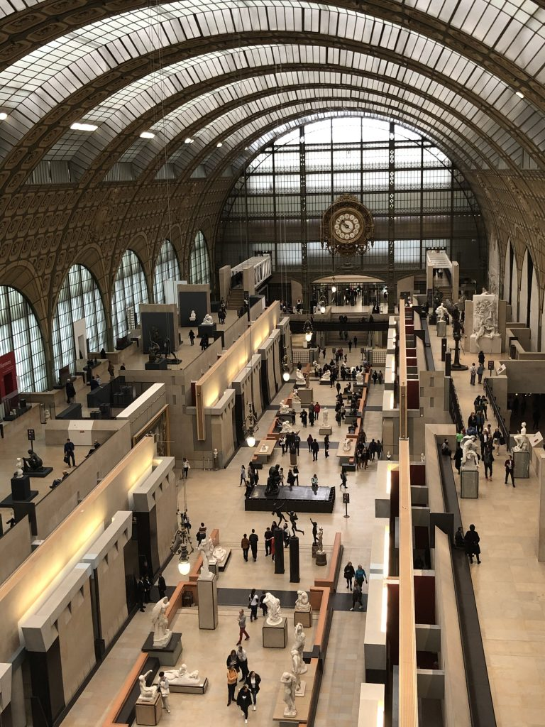 Musée d'Orsay view of the gallery