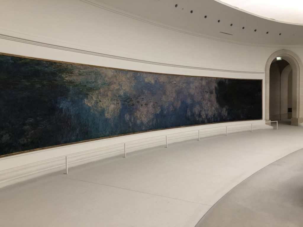 Monet's water lilies painting
