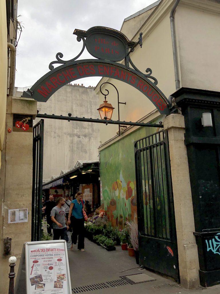 marché des Enfants Rouges entrance