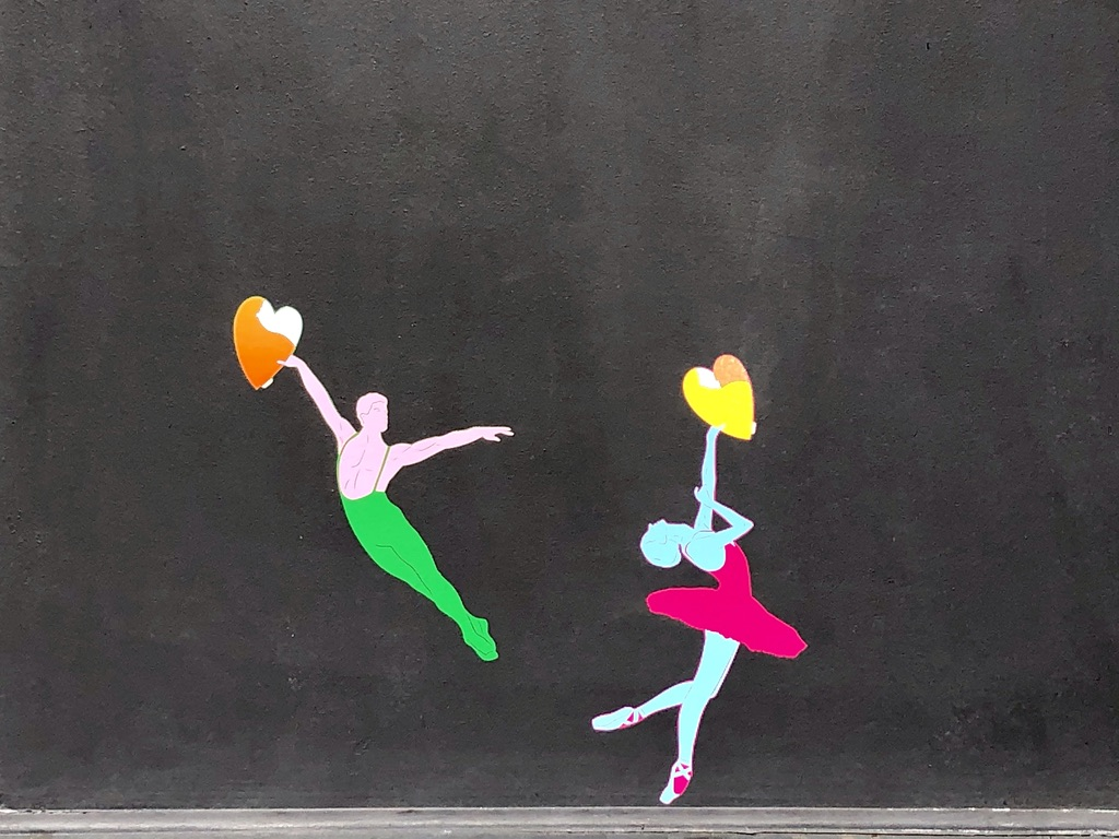 heartcraft Paris street art dancers