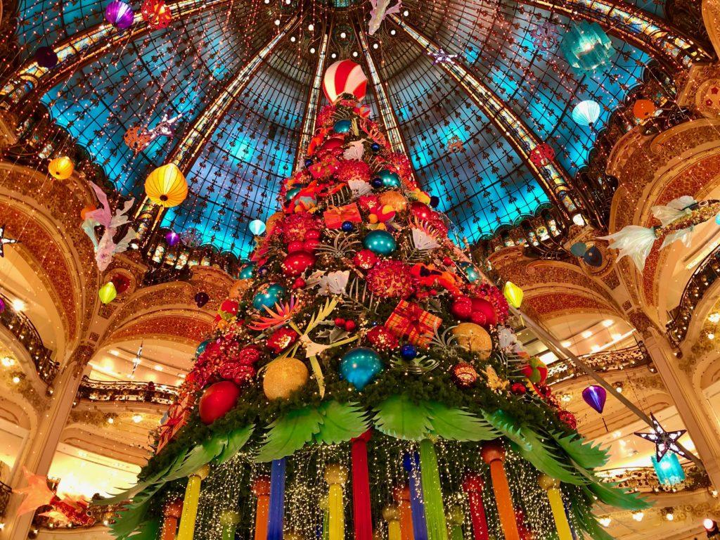 Galeries Lafayette Christmas Tree 2020