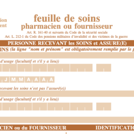 "How to Fill Out a ""Feuille de soins"""