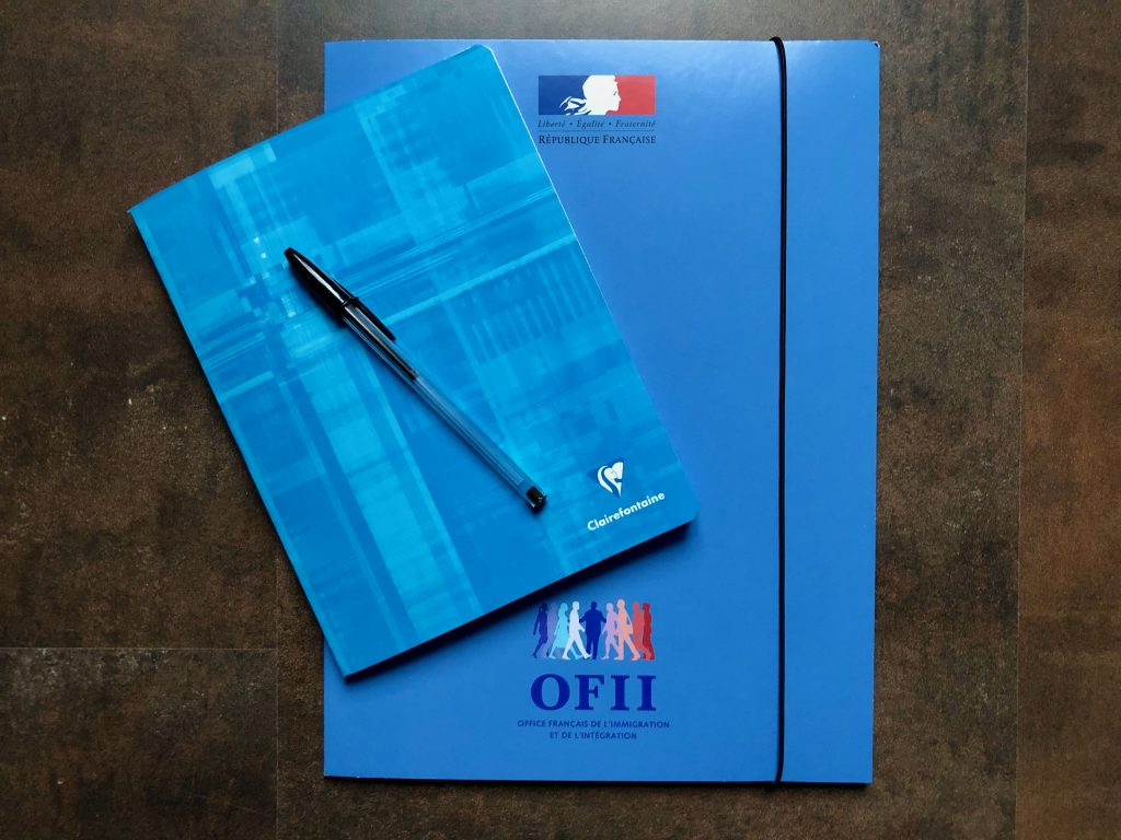 OFII integration contract folder