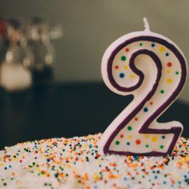 Two-Year Blogging Anniversary